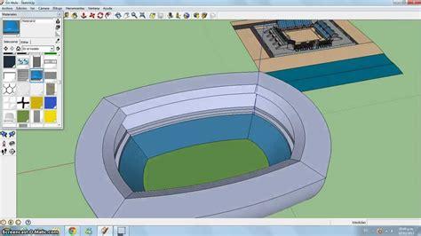 imagenes para google sketchup c 243 mo hacer un estadio en google sketchup youtube