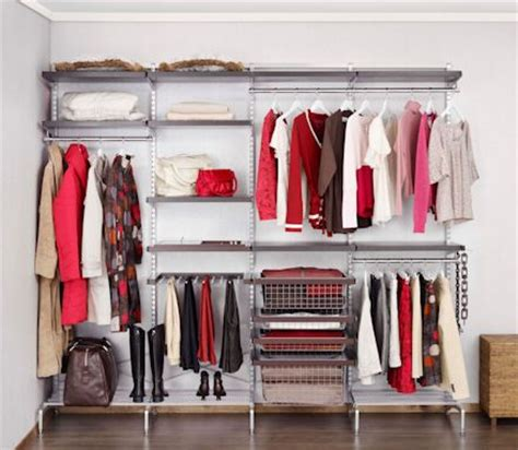 External Closet Storage External Elfa Wall Closet Organization Sensation