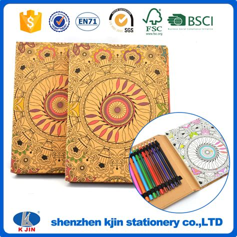 mandala coloring books wholesale wholesaler note pad and pencil note pad and pencil