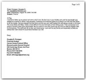 Appreciation Letter To Nursing Home Recommendation Letter Sample For Nursing Program Free