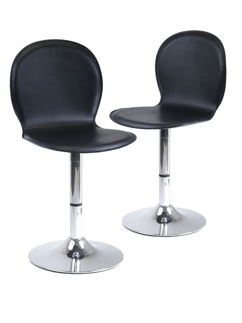 Faux Leather Counter Stools by Faux Leather Bar Stools Set Of 2 In Modern Bar Stools