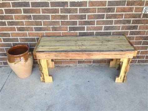 diy pallet outdoor rustic bench pallet furniture diy diy pallet outdoor rustic bench pallet furniture diy