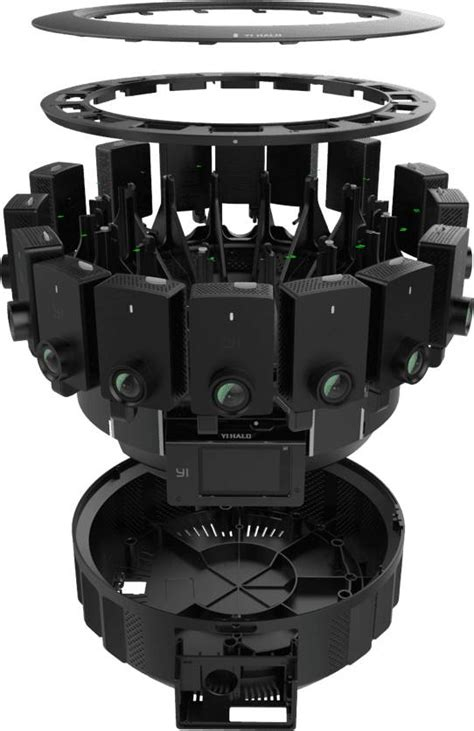 Computing Square Footage picture of the day yi halo next gen jump 3d 360 camera