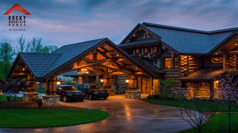 rustic mountain lodge house plans idea home and house