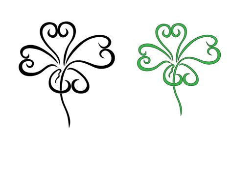 picture of a four leaf clover cliparts co