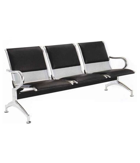 one and half seater sofa eros 3 seater metal sofa airport visitor chair half