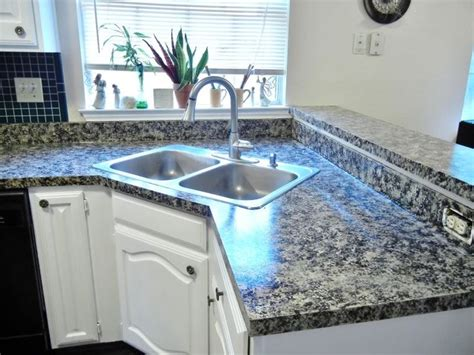 Artificial Kitchen Countertops by Best 25 Faux Granite Countertops Ideas On