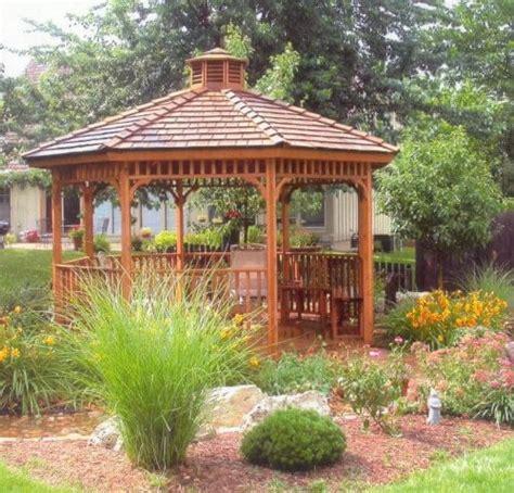 Ideas Design For Hton Bay Gazebo 14 Cedar Wood Gazebo Designs Octagon Rectangle Hexagon And Oval Styles