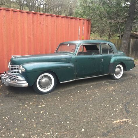 1948 lincoln continental coupe 1948 lincoln continental coupe only 847 built must