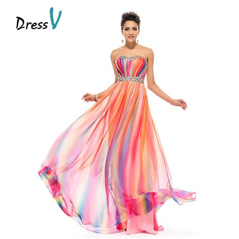 Dress Rainbow 1 buy wholesale rainbow prom dresses from china