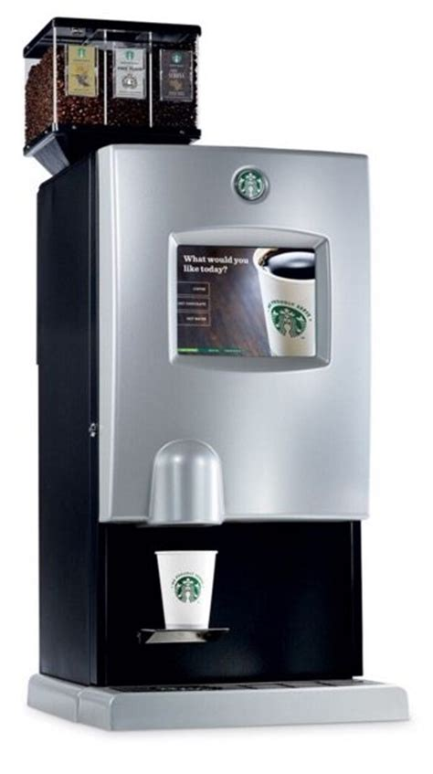 Starbucks ICUP Bean to Cup Coffee Machine   Coffee Ambassador
