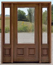clearance front doors exterior doors with sidelights wholesale clearance wood doors