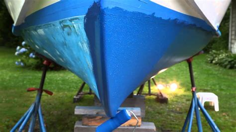 boat has bottom paint tips and tricks for bottom painting your boat youtube