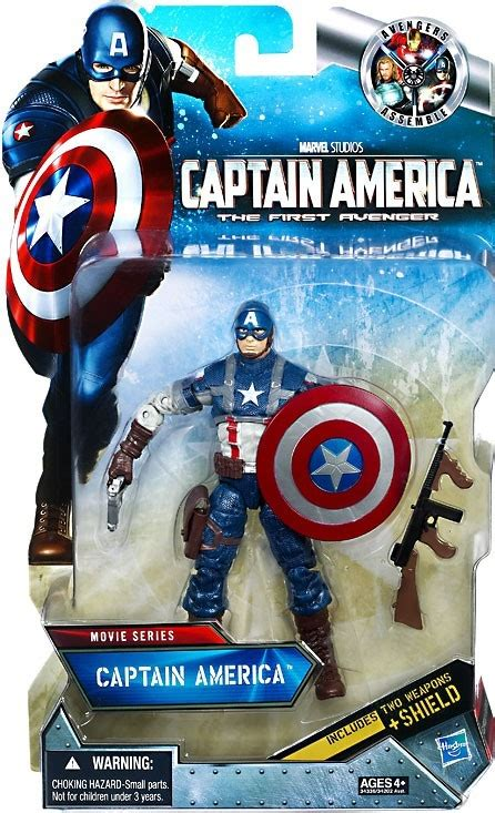 Captain America The Avenger Toys Exclusive captain america the avenger series 6 inch captain america exclusive 6 figure