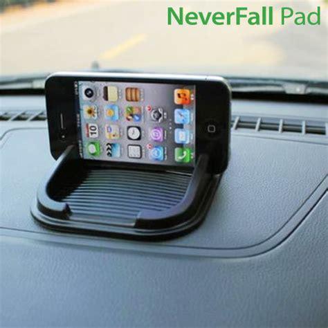 porta cellulare auto mobilholder til bil neverfall pad skridsikker holder delux