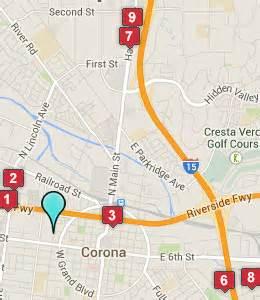 map of corona california corona ca hotels motels see all discounts
