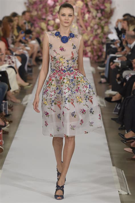 Oscar De La Renta Ny Fashion Week by High Fugshion Oscar De La Renta 2015 At New York