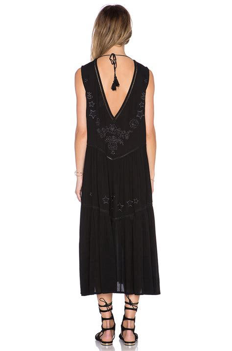 Clothes My Back Lovin by Somedays Lovin Get No Satisfaction Dress In Black Lyst