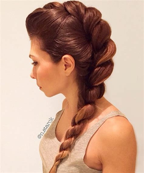 rope braid hairstyles for long hair rope braid hairstyles 20 cute ideas for 2018