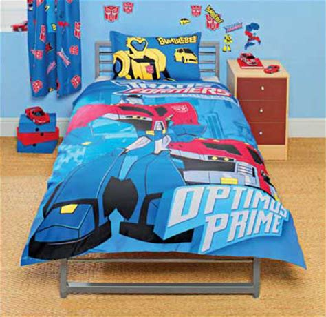 transformer comforter transformers animated duvet set now available for order