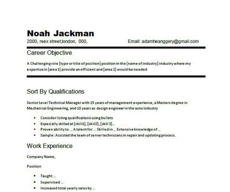 Sample Resume Objectives Welder by 17 Best Ideas About Resume Objective Examples On Pinterest
