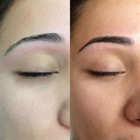 3d eyebrows tattoo uk 128 best 3d hair stroke semi permanent makeup images on