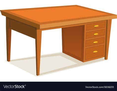 office desk royalty free vector image vectorstock