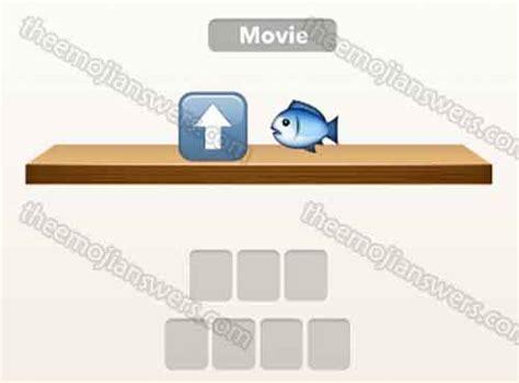 emoji film pfeil fisch emoji quiz up arrow fish the emoji answers