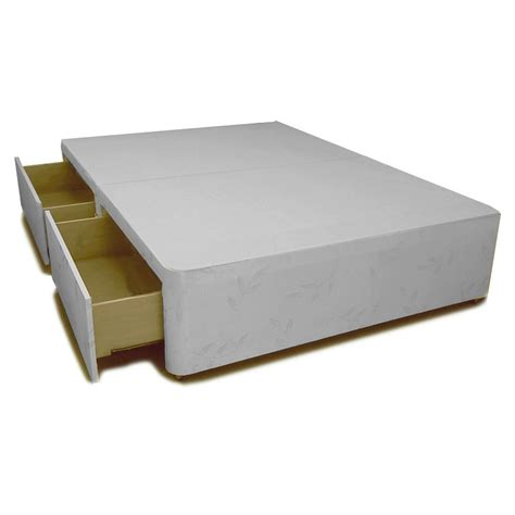 King Size Base With Drawers by Divan Base With 2 Drawers King Size Allied Furniture