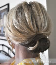 updos for shorter hair pintrest the chic updo the small things blog