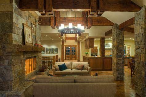 wohnzimmer rustikal modern mountain modern rustikal wohnzimmer seattle