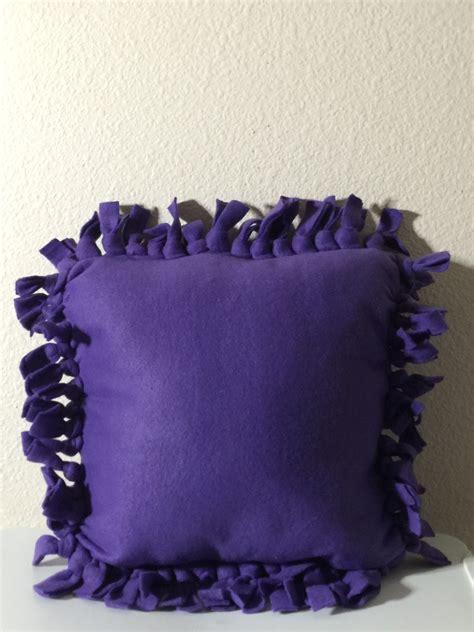 No Sew Fleece Pillow by No Sew Fleece Pillow Pillows