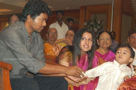 vijay son and daughter vj vijay s brother marriage