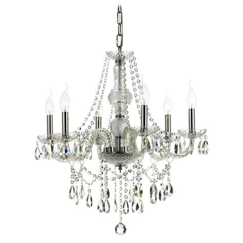 Traditional Chandelier Lighting Traditional Chandelier With Six Lights 2251 Destination Lighting