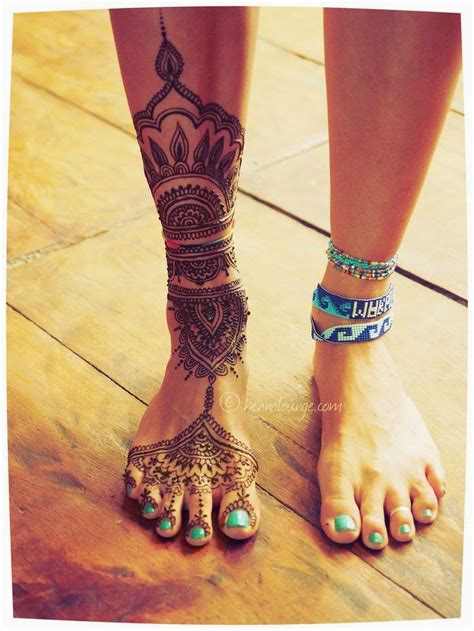 henna leg tattoo mehndi designs 2015 2016 trend of henna