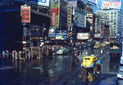 imagenes vintage nueva york kodachrome slides of new york from the 1940s and 1960s