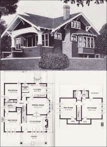 Bungalow Blueprints by 17 Best Ideas About Vintage House Plans On Pinterest