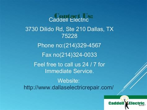 caddell electric electrician dallas tx electricians essential residential electrician services from caddell