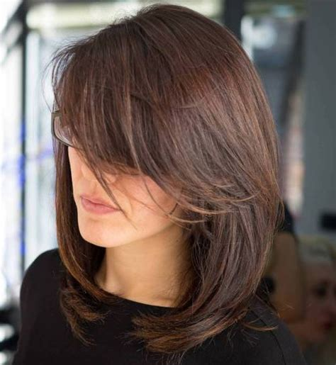 haircuts with side bangs and layers 40 side swept bangs to sweep you off your feet