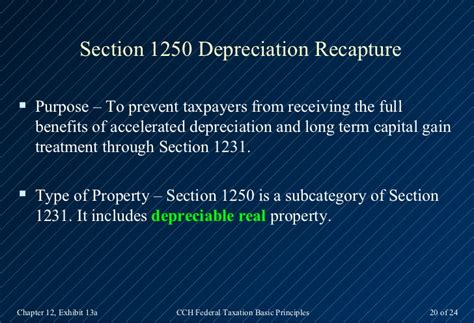 what is section 1231 property 2013 cch basic principles ch12