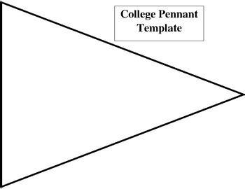college pennant template college pennant template by yvette chavez teachers pay