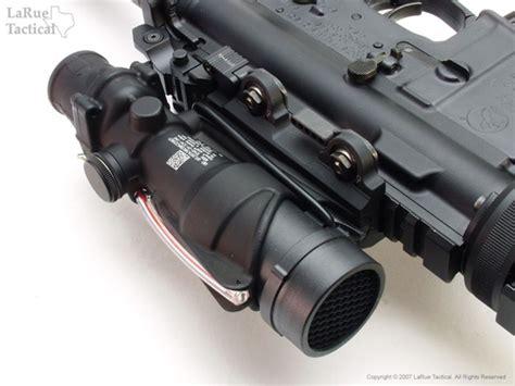 larue tactical acog mount qd lt100 larue tactical trijicon acog usmc rifle optic ta31 rco with m4 reticle