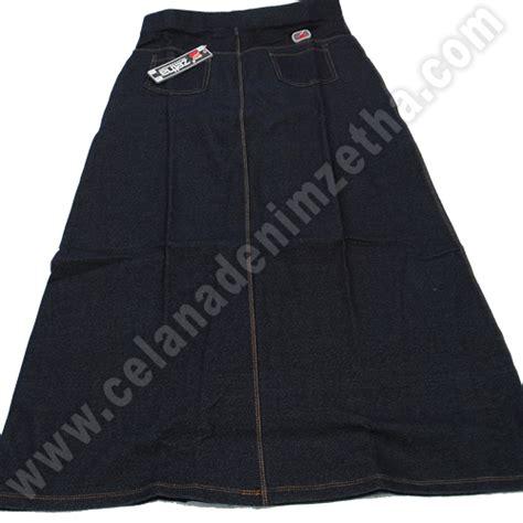 Celana Prisket Dusty Navy rok zetha denim warna navy celana denim zetha