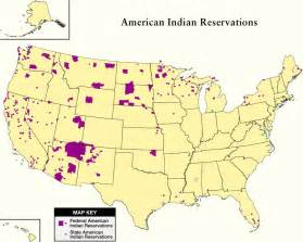 indian reservations map national congress of american indians and partner