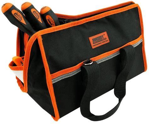 Jakemy Synthetic Leather Tool Storage Waist Bag With Jm B04 jakemy professional portable tool bag big set jm b01 jakartanotebook