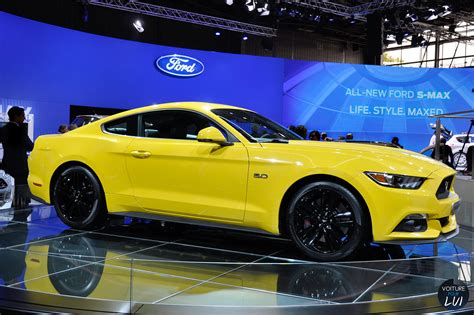 Piece D Auto Mustang by Image Ford Mustang Gt Mondial Auto 2014 Voiture Pour Lui