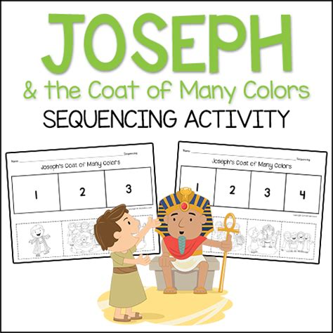 joseph and the coat of many colors joseph the coat of many colors christian preschool