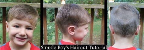 toddler boy haircut tutorial simple boy s haircut tutorial raising olives