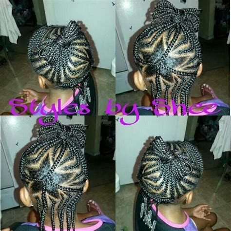 picrtures of unique corn roll styles unique star cornrow design on natural hair natural kids