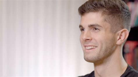 christian pulisic espn exclusive christian pulisic chats to espn s raphael
